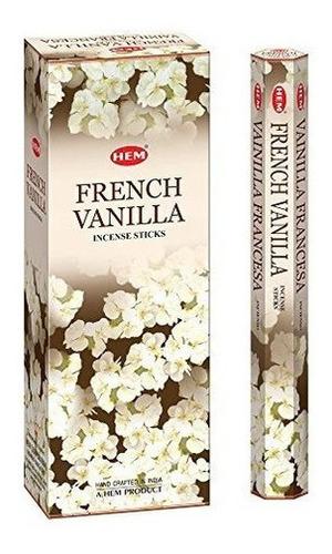Imagen 1 de 1 de Hem French Vanilla Incense 120 Sticks Box