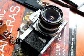Câmera Nikon - Nikomat Ftn - Tudo Funcionando!!! Zerada.