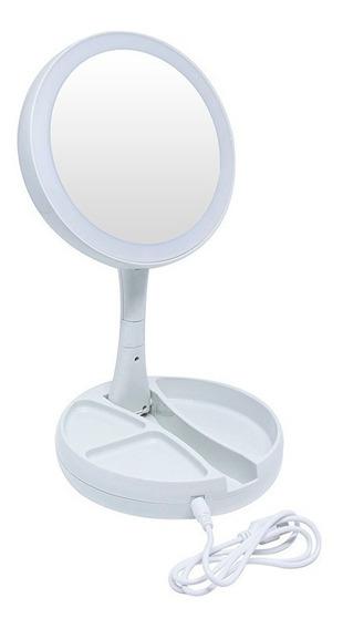 Espelho Articulavel C/ Luz Led 28,5cm Mr-10 Western