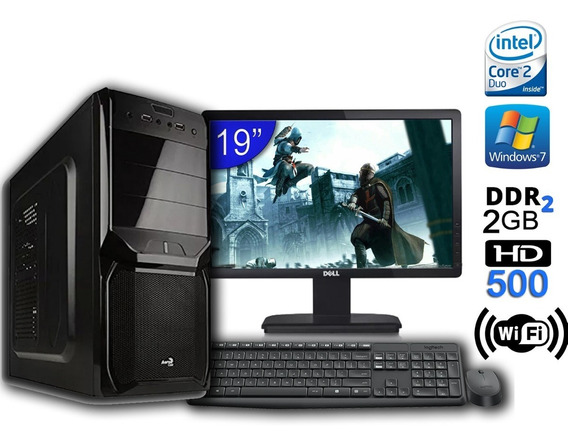 Computador Completo 2 Gb Ram + 500 Hd - Core 2 Duo