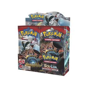 Caixa De Booster Pokemon Sol E Lua 4 Invasão Carmim Sl4