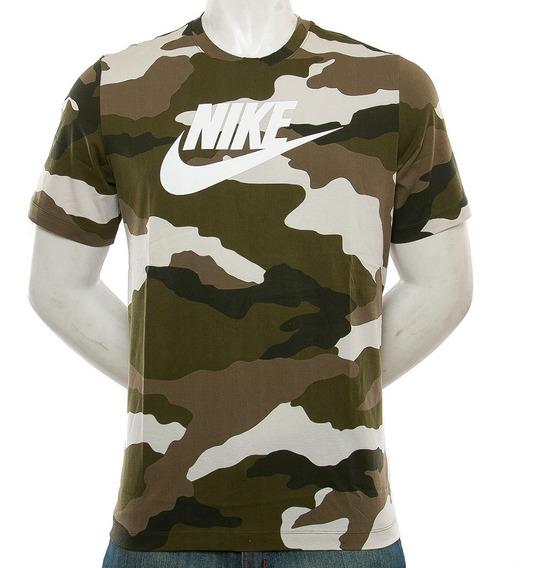Remera Nsw Camo 1 Nike Blast Tienda Oficial