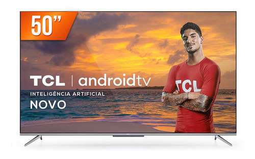 Smart Tv Led 50  4k Ultra Hd Tcl 50p715 3 Hdmi 2 Usb Wi-fi