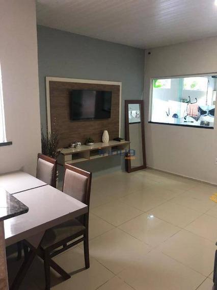 Casa Com 2 Dormitórios À Venda Por R$ 110.000,00 - Iparana - Caucaia/ce - Ca0779
