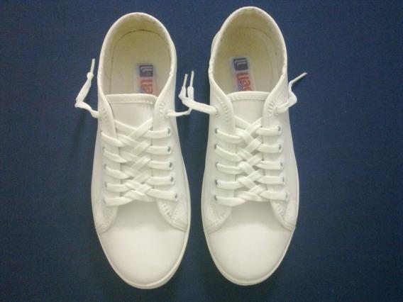Zapatos Deportivos Blancos En Perfecto Estado Dama