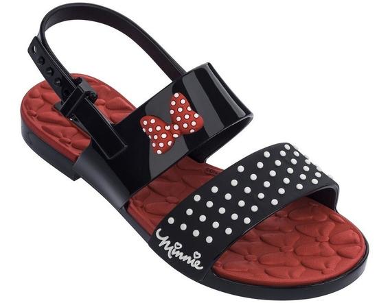 Sandália Infantil Grendene Minnie Chic 21861-52513 | Katy