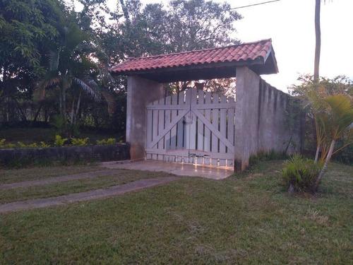 Chácara Com 3 Dormitórios À Venda, 2000 M² Por R$ 380.000 - Cercado - Araçoiaba Da Serra/sp - Ch0016