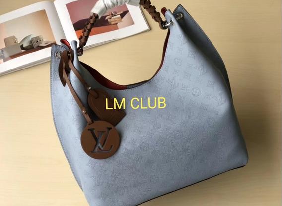 Bolsa Louis Vuitton Carmel Azul Couro Monograma Lançamento