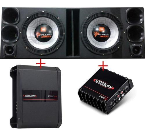 Caixa Jbl Tornado + 4 D250x + 2 St200 + Módulos Soundigital