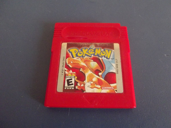 Pokemon Red Original Para Game Boy, Color, Adv,sp
