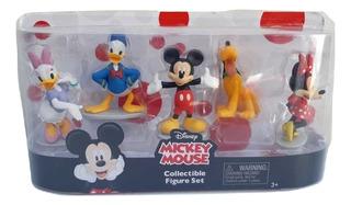 Disney Store Set De Figuras De Mickey Mouse Y Mini Original