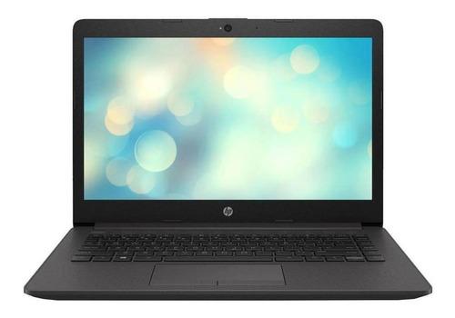 "Imagen 1 de 6 de Laptop HP 240 G7 plateado ceniza oscuro 14"", Intel Celeron N4000  4GB de RAM 500GB HDD, Intel UHD Graphics 600 1366x768px FreeDOS"
