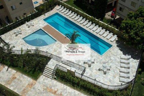 Imagem 1 de 20 de Flex Guarulhos Apartamento Com 2 Dormitórios À Venda, 60 M² Por R$ 355.000 - Vila Galvão - Guarulhos/sp - Ap2777
