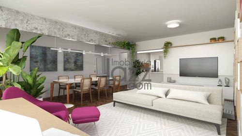 Apartamento Com 3 Quartos À Venda, 185 M² Por R$ 2.380.000 - Jardim Paulista - São Paulo/sp - Ap4880