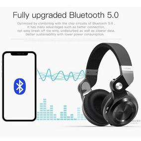 Fone Sem Fio Bluedio T2+ Bluetooth 5.0 Rádio Fm & Cartão Sd