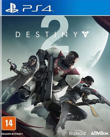 Destiny 2 Ps4 Mídia Física Lacrado Pt Br