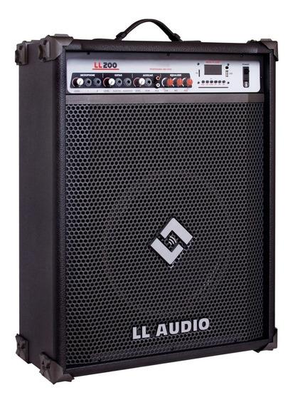 Caixa De Som Amplificada Ll200 Bluetooth Fm E Usb - 50w