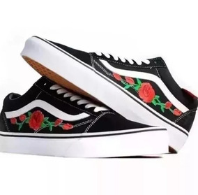 Vans Old Skool Floral Feminino Na Caixa!! Confira Envio 24hs