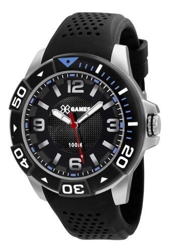 Relógio X-games Masculino Xmpp0018 P2px Preto Analogico