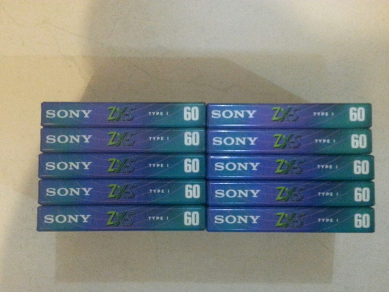 Lote 20 Fitas Cassete Sony Zx-s 60 Minutos ( Frete Grátis )