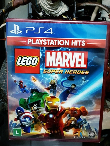Jogo Lego Marvel Super Heroes Ps4 Português Lacrado