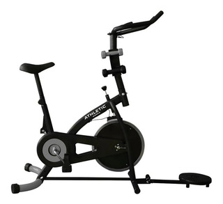 Bicicleta Spinning Athleticworks Multifuncional + Envio Grat