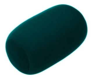 Almofada Rolinho Para Viagem Tipo Fom - Verde Escuro