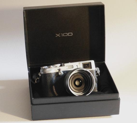 Câmera Fuji X100 12.3 Mpx Aps-c Cmos Sensor