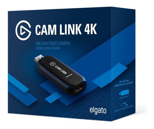 Cam Link 4 K Elgato Dispositivo De Captura Compacto Hdmi
