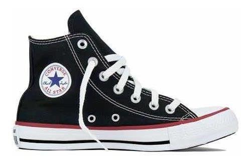 Tênis Converse All Star Cano Alto Chuck Taylor Tecido- Preto