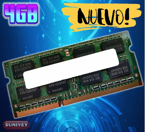 #30 Memoria 4gb Ddr3 1333mhz Pc3-10600 1.5v Cl=9 Laptop
