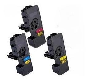 Kit Toner Tk-5232 M5521 P5021 P5021cdn M5521cdn - 03 Cores