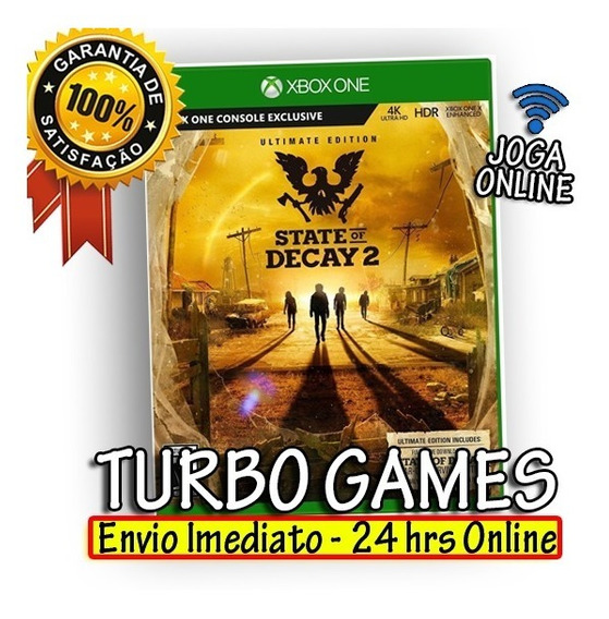State Of Decay Ultimate Edition Xbox One Midia Digital