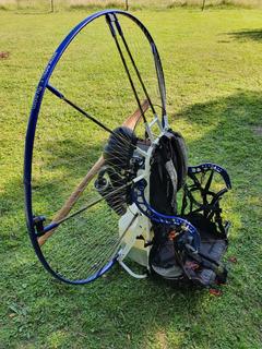 Paramotor Parapente Vitorazzi Monster Plus Importado