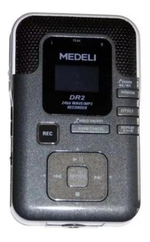 Gravador Medeli Digital C/entrada Cartao De Memoria Usb Dr2