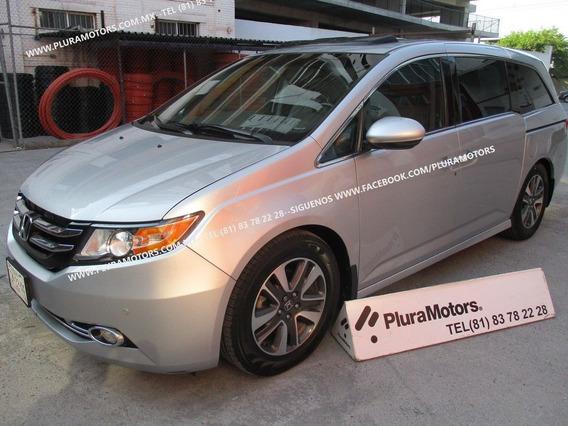 Honda Odyssey Touring 2014 Piel Quemacocos Gps $299,000