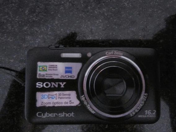 Câmera Digital Sony Cyber-shot Dsc- Wx7 16.2 Mega Pixels