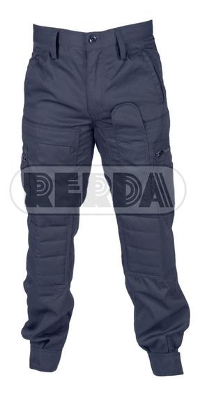 Pantalón Táctico Americana Policía Azul T: 50 Al 54 En Cuota