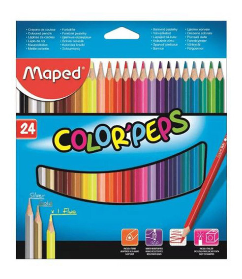 Lápis De Cor Color