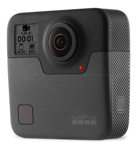 Câmera Gopro Fusion 18mp 5.2k Captura De 360º- Nota Fiscal