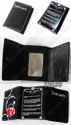 Imagen 1 de 5 de Billetera Anime Death Note (tienda Friki)