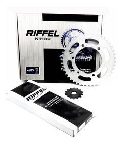 Kit Relação Transmissão R3 / Mt03 Riffel Com Retentor