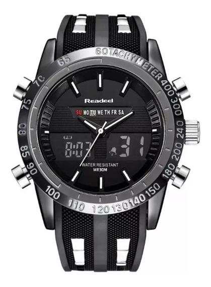 Relógio Masculino Readeel Nf 9024 Prova Dágua Promoção