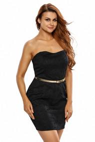 Vestido Straples Incluye Cinturon Dorado + Envío Gratis