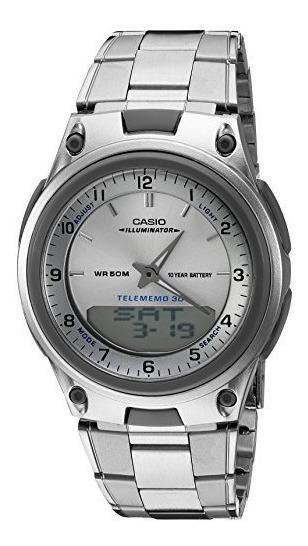 Casio Aw80d-7a - Reloj Deportivo Con Cronógrafo Y Alarma, B