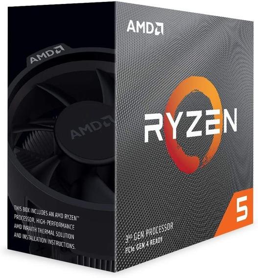 Processador Gamer Amd Ryzen 5 3600 100-100000031box De 6 Núc
