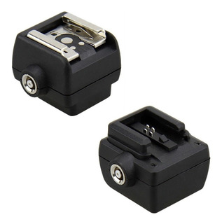 Zapata Adaptador Flash Sony A Universal Canon Nikon O Para Usar Con Lampara Led Microfono Etc