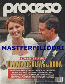 Angelica Rivera & Enrique Peña Nieto Revista Proceso 2016