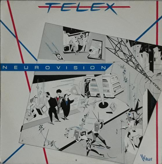 Lp Telex Neurovision/1981/bom Estado