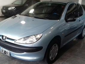 Peugeot 206 1.9 Xrd Aa En Exelente Estado, Financio
